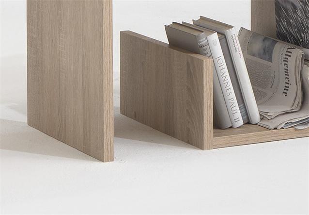 beistelltisch mike tisch couchtisch in sonoma eiche. Black Bedroom Furniture Sets. Home Design Ideas