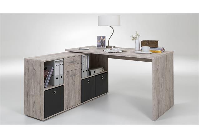 Schreibtisch lex winkelkombination tisch b rotisch for Schreibtisch edelbuche