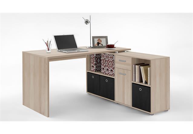 schreibtisch lexx winkelkombination tisch b rotisch farbauswahl ebay. Black Bedroom Furniture Sets. Home Design Ideas