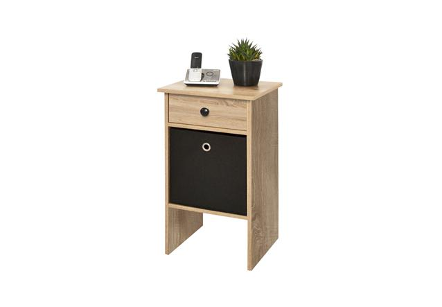 nachtkommode jack telefontisch sonoma eiche ebay. Black Bedroom Furniture Sets. Home Design Ideas