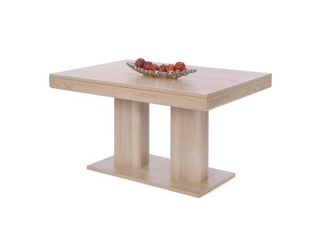 esstisch heidelberg tisch sonoma eiche ausziehbar 140 220x90 cm ebay. Black Bedroom Furniture Sets. Home Design Ideas