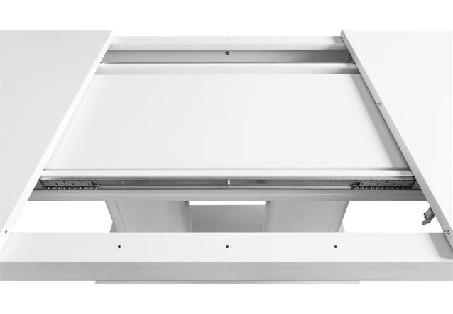 esstisch heidelberg tisch wei ausziehbar 140 220x90 cm ebay. Black Bedroom Furniture Sets. Home Design Ideas