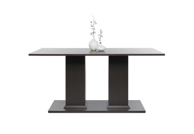 Esstisch tabaco esszimmertisch tisch in schwarzbraun for Esstisch schwarzbraun