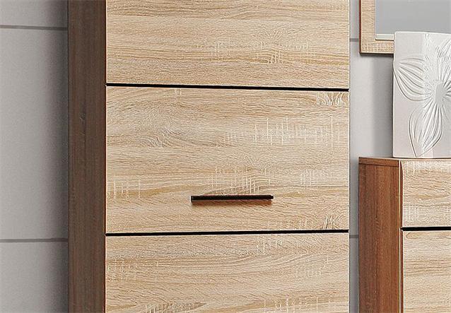 garderobenschrank combino kleiderschrank schrank sonoma. Black Bedroom Furniture Sets. Home Design Ideas