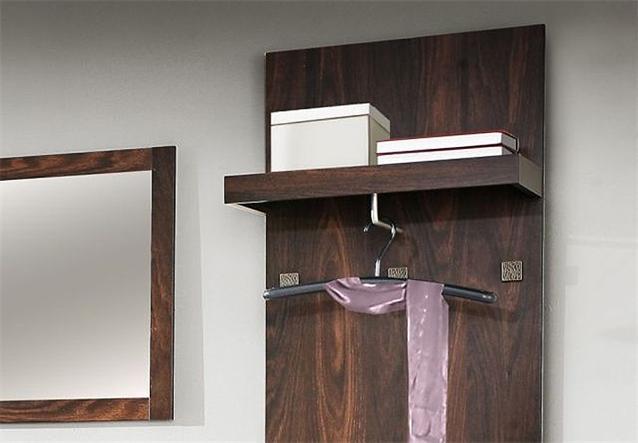 garderobenset indigo schuhschrank spiegel eiche durance. Black Bedroom Furniture Sets. Home Design Ideas