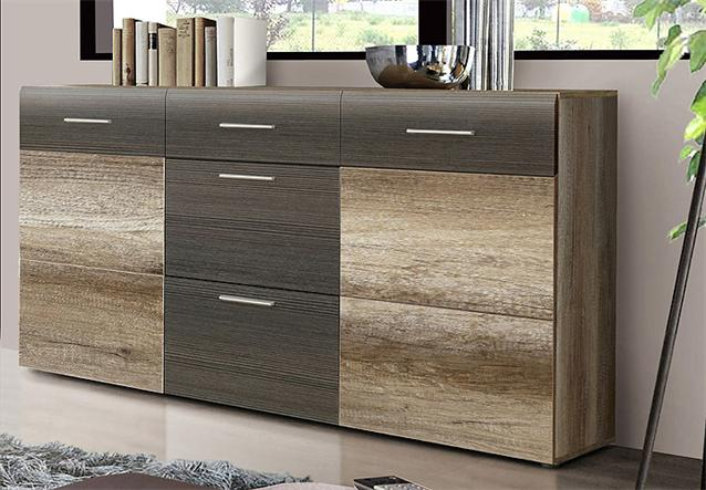 sideboard nabou anrichte kommode eiche antik touchwood. Black Bedroom Furniture Sets. Home Design Ideas
