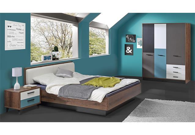 jugendzimmer 2 raven kinderzimmer in schlammeiche wei. Black Bedroom Furniture Sets. Home Design Ideas