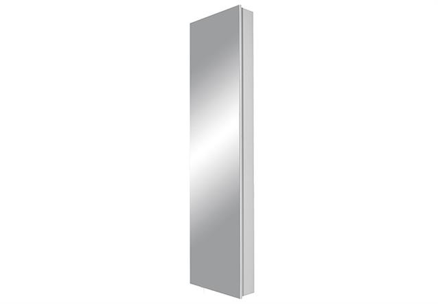 mehrzweckschrank drehschrank 1189 dielenschrank in wei mit spiegel germania. Black Bedroom Furniture Sets. Home Design Ideas