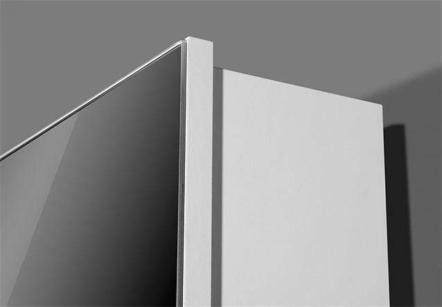 drehschrank 1189 mehrzweckschrank dielenschrank in wei mit spiegel germania ebay. Black Bedroom Furniture Sets. Home Design Ideas