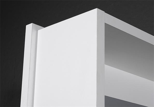 drehschrank 1189 mehrzweckschrank dielenschrank in wei mit spiegel germania. Black Bedroom Furniture Sets. Home Design Ideas