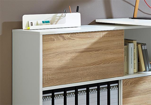 schreibtisch slide computertisch b rotisch wei sonoma. Black Bedroom Furniture Sets. Home Design Ideas