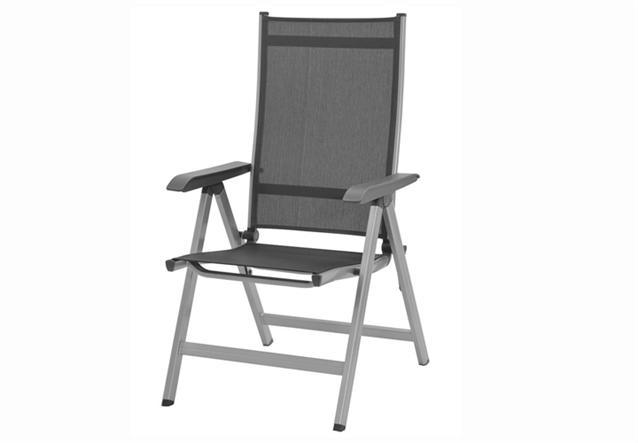 klappsessel basic plus kettler gartenm bel in aluminium. Black Bedroom Furniture Sets. Home Design Ideas