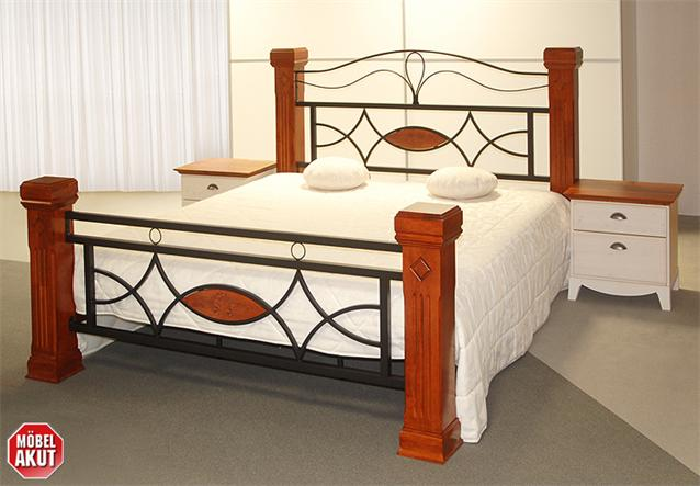 holz metall bett marco lattenrost wei b 140 cm ebay. Black Bedroom Furniture Sets. Home Design Ideas