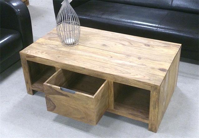 couchtisch conga tisch beistelltisch in sheesham massiv ge lt neu ebay. Black Bedroom Furniture Sets. Home Design Ideas