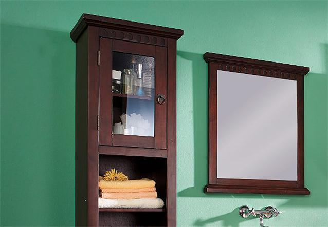 badm bel hochschrank pisa badezimmer in pinie massiv kolonial ebay. Black Bedroom Furniture Sets. Home Design Ideas