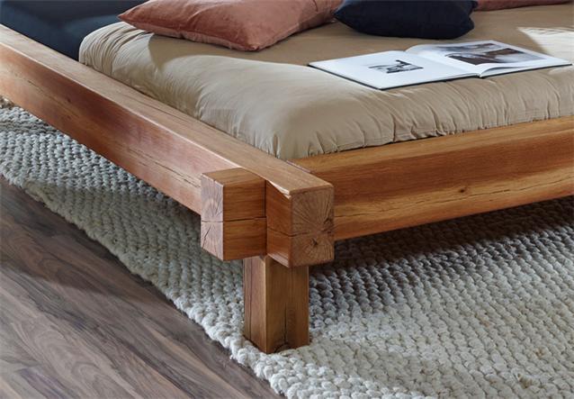 balkenbett 180x200 aus altem holz beste bildideen zu. Black Bedroom Furniture Sets. Home Design Ideas