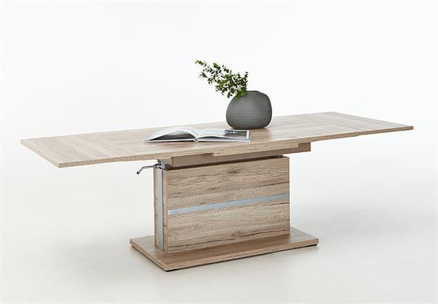 Couchtisch Thomas Tisch in San Remo Eiche höhenverstellbar