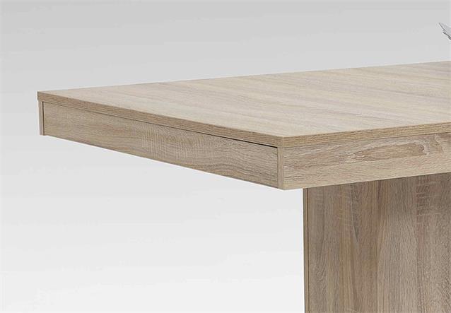 esstisch scarlet tisch esszimmertisch in sonoma eiche ausziehbar 140 220x90 cm ebay. Black Bedroom Furniture Sets. Home Design Ideas