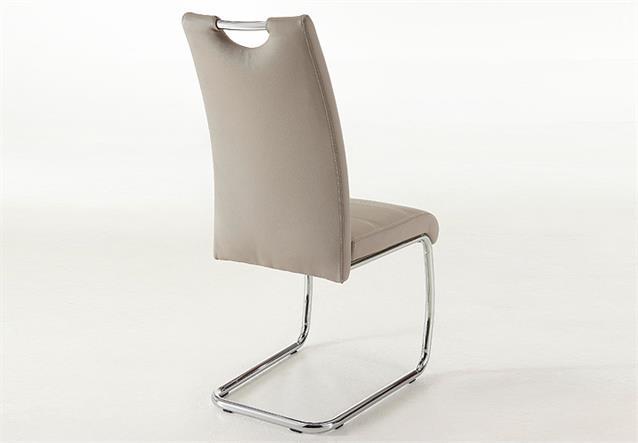Schwingstuhl flora 4er set stuhl esszimmerstuhl cappuccino for Design stuhl flora