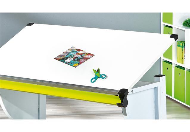 kinder schreibtisch cetrix kinderzimmer tisch in wei und. Black Bedroom Furniture Sets. Home Design Ideas