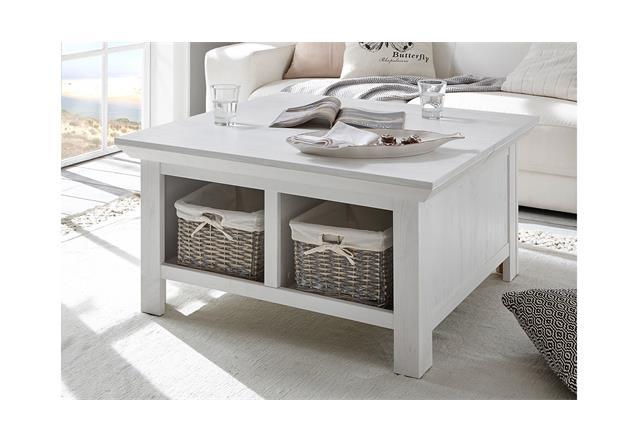 Couchtisch Westerland Tisch Wohnzimmer inkl Körbe