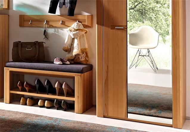 Garderobe nature plus 6 teilig schrank schuhschrank for Garderobe natur