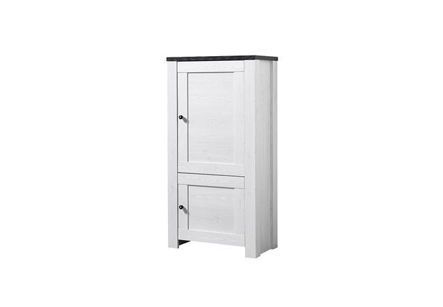 stauraumelement antwerpen schrank wohnzimmerschrank in l rche pinie dunkel ebay. Black Bedroom Furniture Sets. Home Design Ideas