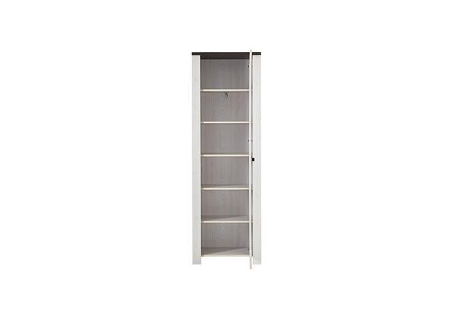 garderobenschrank 1 antwerpen garderobe schrank in l rche und pinie dunkel ebay. Black Bedroom Furniture Sets. Home Design Ideas