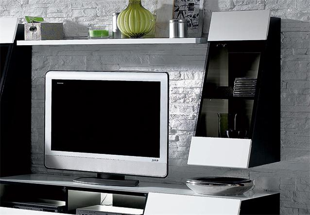 wohnwand cuuba culture 30 1 jahnke media m bel in hochglanz wei ebay. Black Bedroom Furniture Sets. Home Design Ideas