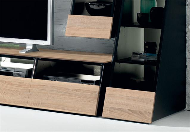 wohnwand cuuba culture 30 2 jahnke wohnzimmer anbauwand in sonoma eiche. Black Bedroom Furniture Sets. Home Design Ideas