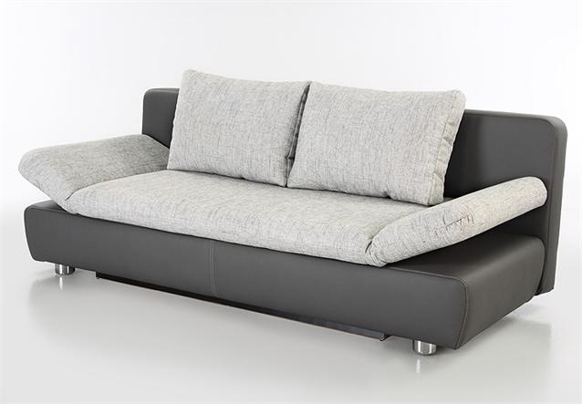 schlafsofa vince sofa in dunkelgrau mit bettkasten und bettfunktion. Black Bedroom Furniture Sets. Home Design Ideas