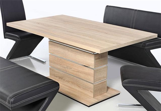 esstisch ronaldo tisch sonoma eiche tr ffel 160x90 cm. Black Bedroom Furniture Sets. Home Design Ideas