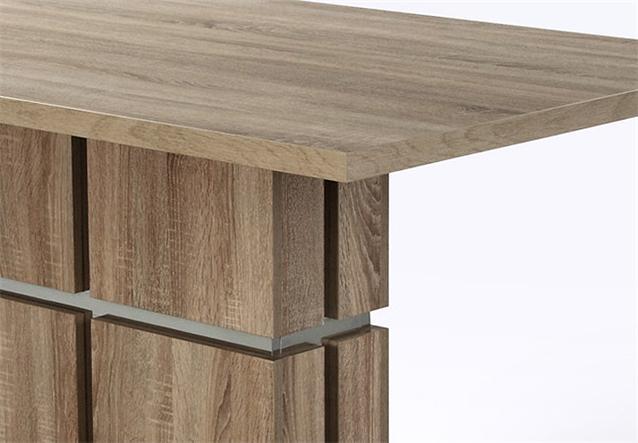 esstisch delhi tisch sonoma eiche s gerau tr ffel 160x90 cm ebay. Black Bedroom Furniture Sets. Home Design Ideas