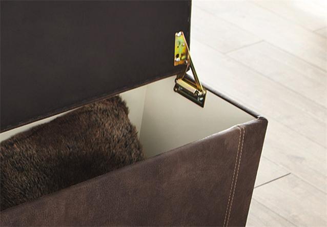 hockerbank rumba hocker bank bettbank polsterbank sitzhocker vintage braun 180 ebay. Black Bedroom Furniture Sets. Home Design Ideas