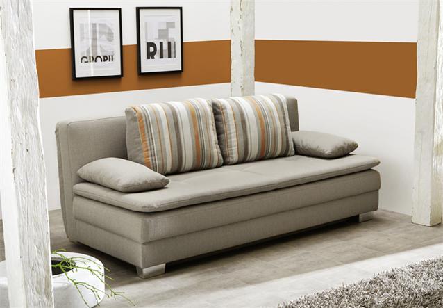 funktionssofa florenz schlafsofa dauerschl fer in stoff. Black Bedroom Furniture Sets. Home Design Ideas