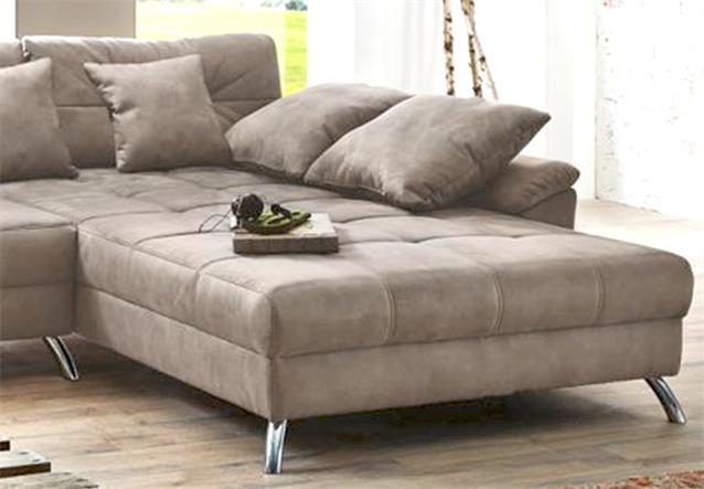 wohnlandschaft santa cruz wohnzimmer ecksofa in nubukoptik. Black Bedroom Furniture Sets. Home Design Ideas