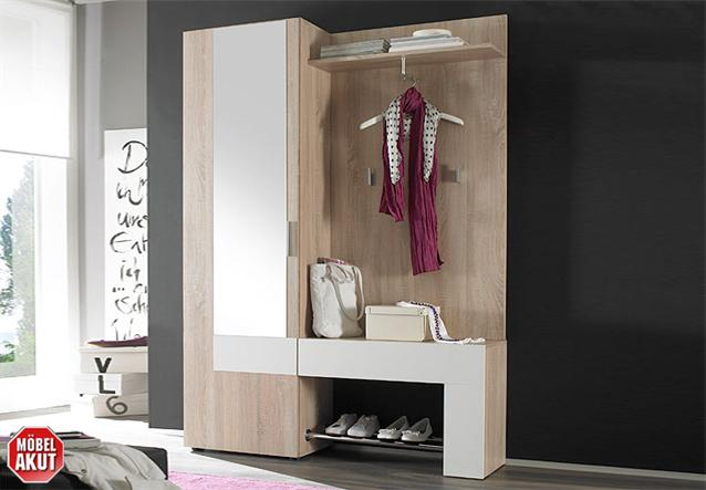 garderobe taken schrank garderobenschrank in wei anthrazit neu ebay. Black Bedroom Furniture Sets. Home Design Ideas