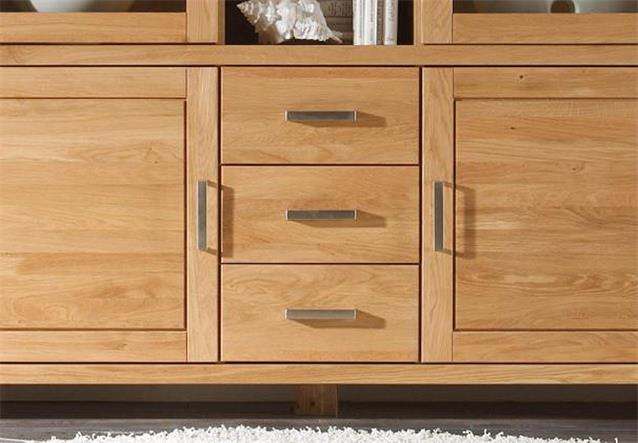 highboard provence buffetschrank schrank wildeiche teilmassiv ge lt und gewachst ebay. Black Bedroom Furniture Sets. Home Design Ideas