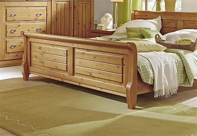 bett malta schlafzimmerbett doppelbett in kiefer massiv bernstein 160x200 ebay. Black Bedroom Furniture Sets. Home Design Ideas