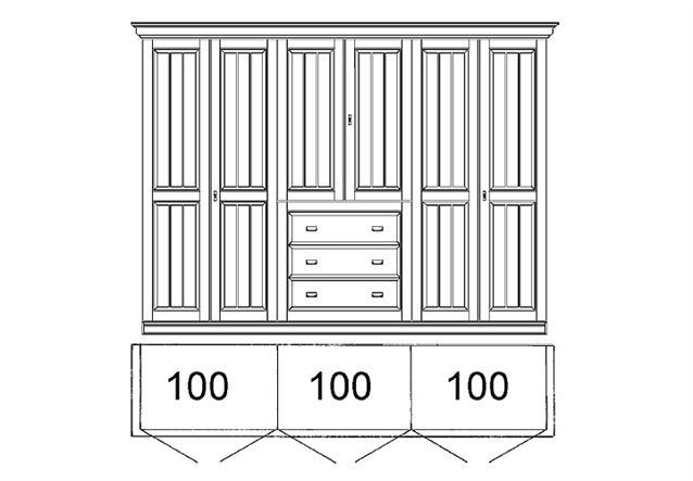 schlafzimmer set 1 malta kleiderschrank bett kommode kiefer massiv bernstein ebay. Black Bedroom Furniture Sets. Home Design Ideas