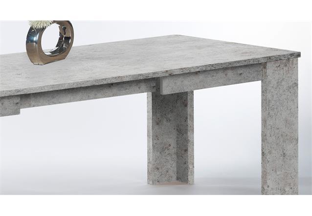 beton tisch ausziehbar inneneinrichtung und m bel. Black Bedroom Furniture Sets. Home Design Ideas