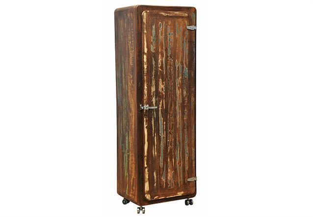 schrank fifty style dielenschrank hochschrank recyceltes. Black Bedroom Furniture Sets. Home Design Ideas