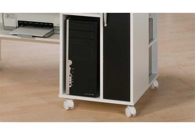 schreibtisch maja 9475 computertisch pc tisch b rotisch tisch wei schwarz. Black Bedroom Furniture Sets. Home Design Ideas