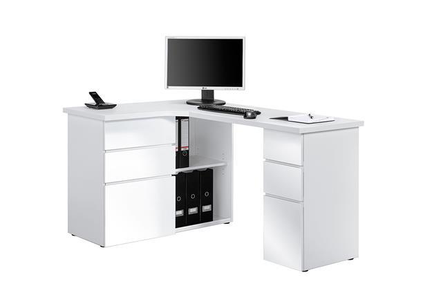 schreibtisch maja 9543 computertisch pc tisch b rotisch tisch farbauswahl ebay. Black Bedroom Furniture Sets. Home Design Ideas