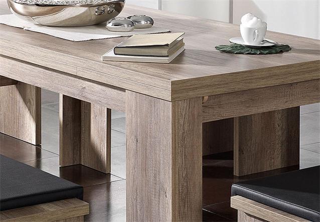 Tisch big zip esstisch esszimmertisch in wildeiche tr ffel for Esstisch 320