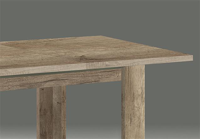 esstisch bell air 2 0 ausziehbar 140 210x90 tisch wildeiche tr ffel. Black Bedroom Furniture Sets. Home Design Ideas