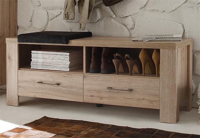 garderoben set ii lupo spiegel sideboard paneel in san remo eiche ebay. Black Bedroom Furniture Sets. Home Design Ideas