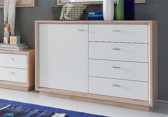 garderoben set sven schrank bank paneel sideboard in edelbuche wei lack ebay. Black Bedroom Furniture Sets. Home Design Ideas