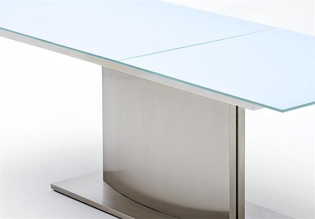 Esstisch Memory Glas ~ Esstisch Ausziehbar Glas Ebay Ausziehbarer esstisch mit reinweisser glasplat