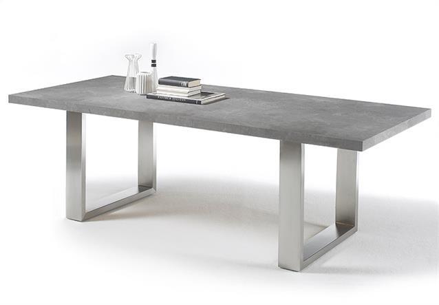 Esstisch stone tisch esstisch esszimmertisch anthrazit for Tisch marmoroptik